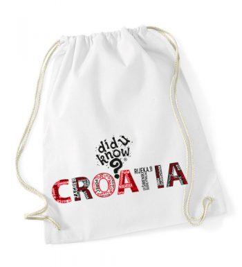 Pamučna Torba / Ruksak – Croatia 3