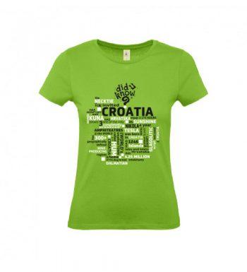 Ženska Majica – Croatia 1