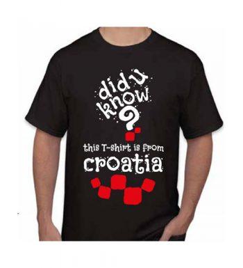 Muška Majica – Croatia 5