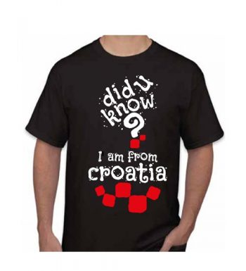 Muška Majica – Croatia 6