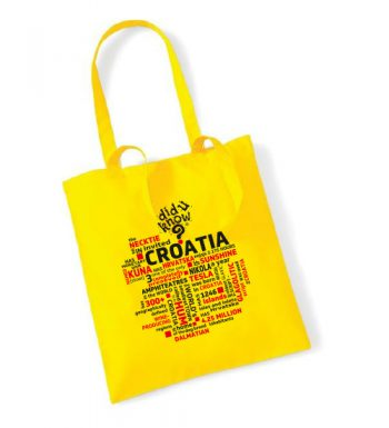 Pamučna Torba U Boji – Croatia 2